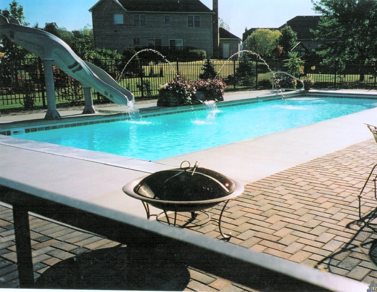 Inground Pools Installed In Chicagoland Oswego Naperville