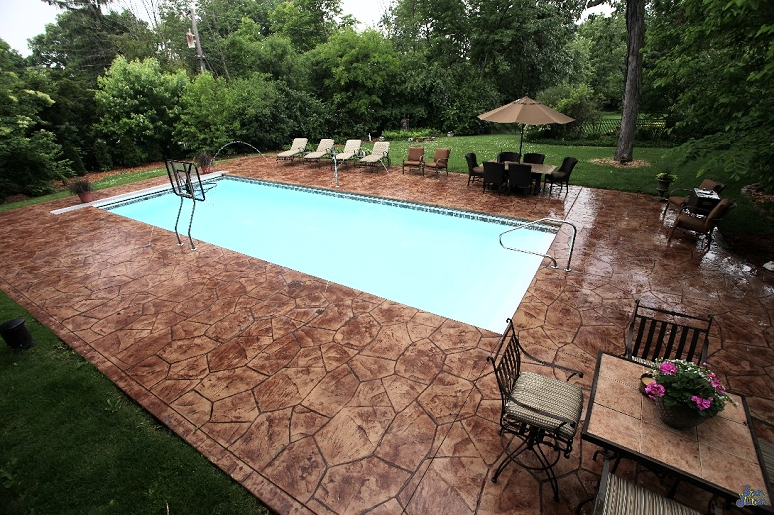 Quick Tour Of Sunco Inground Pools Installed Throughout Chicagoland Suburbs  Including Yorkville, Oswego, Naperville