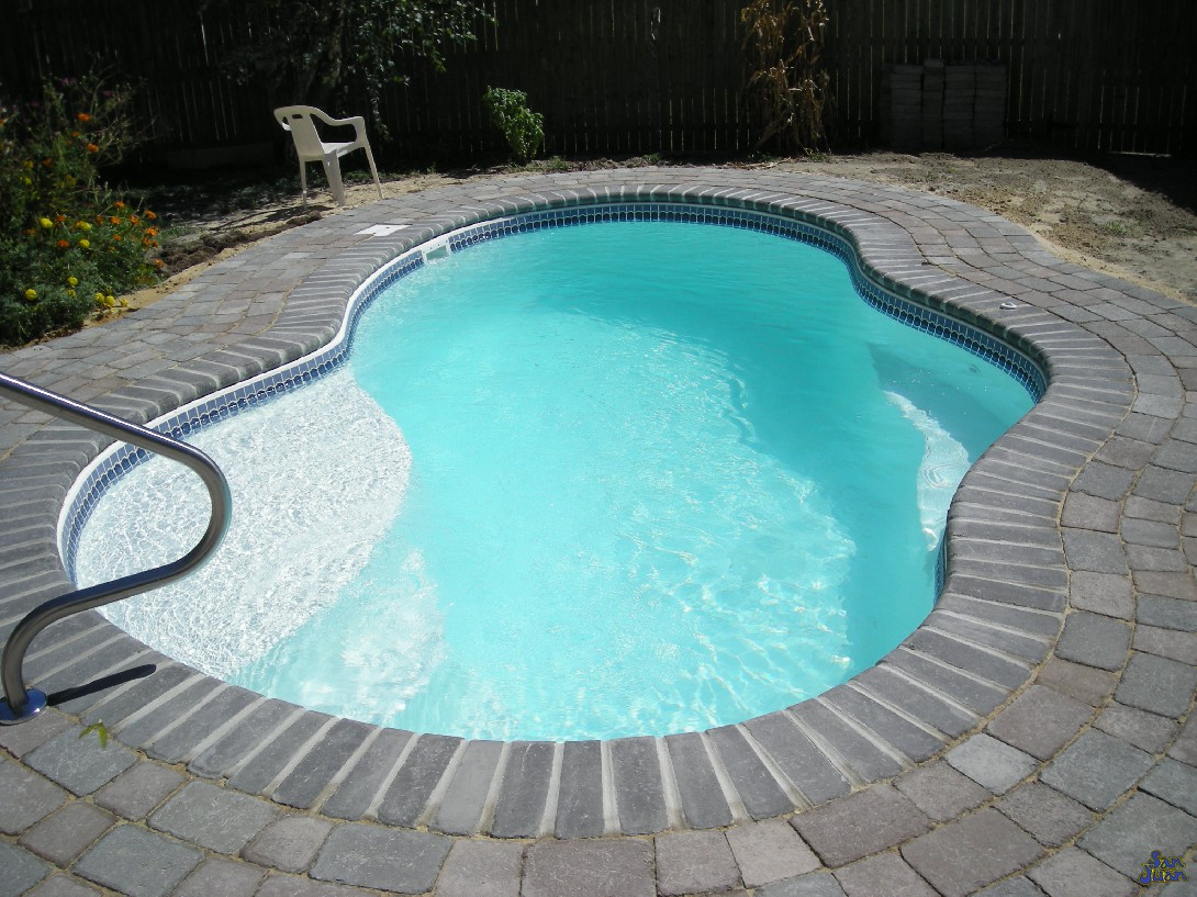Indy premier pools featuring san juan fiberglass pools for Pool design education