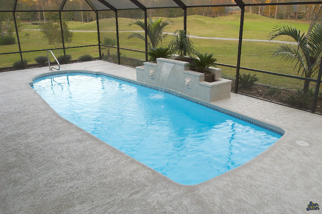 Indy Premier Pools Featuring San Juan Fiberglass Pools Scottsdale
